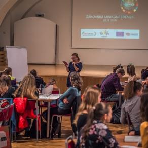 Žákovská minikonference Get up and Goals - 27. 9. 2019
