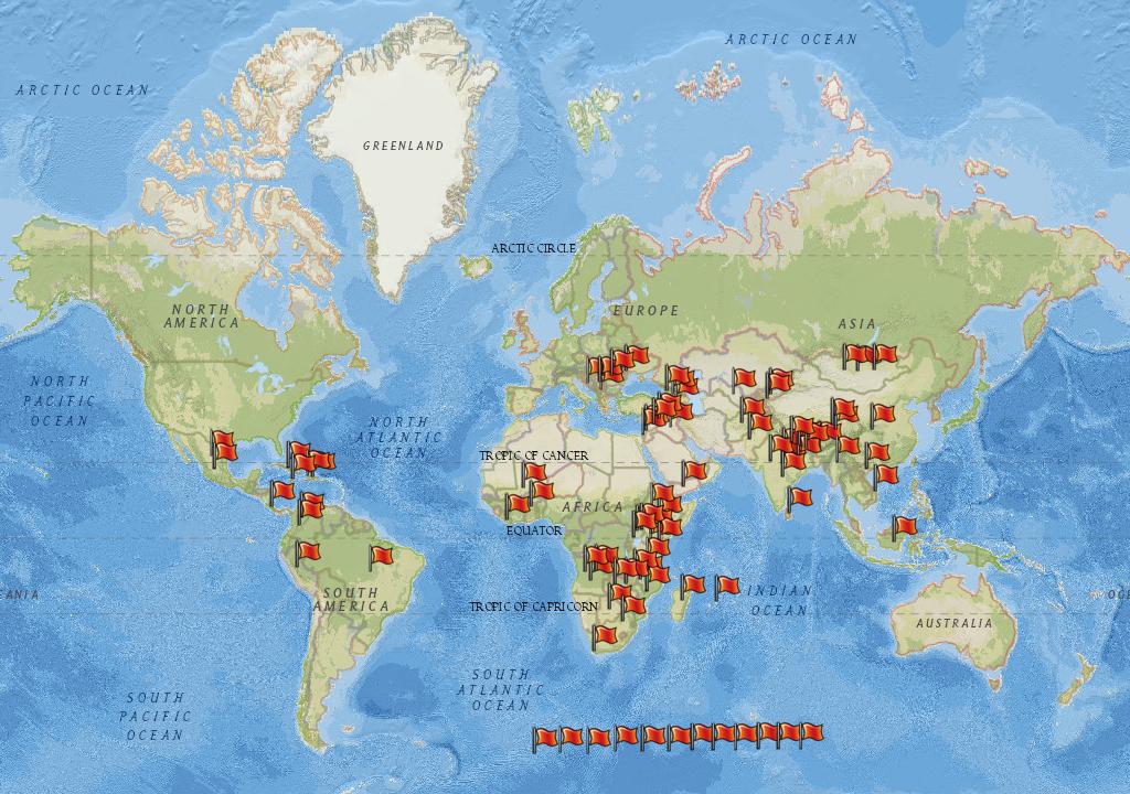 Mapa rozvojovych veceru
