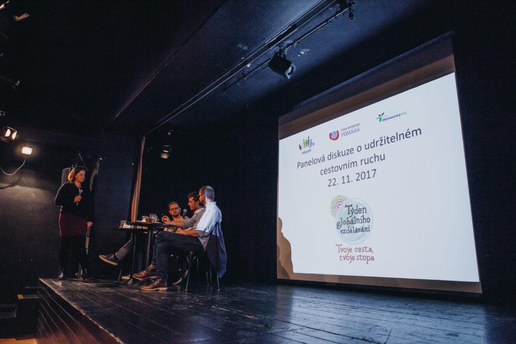 Panelová diskuze o udržitelném cestovním ruchu, 22. listopadu 2017