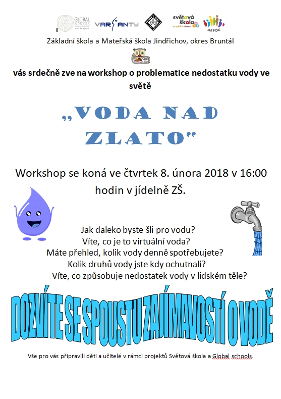workshop o nedostatku vody